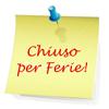 Calendario delle chiusure degli uffici CNA Piemonte Nord per le ferie estive