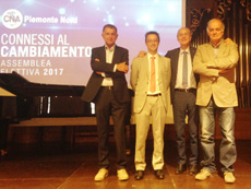 Donato Telesca confermato presidente di CNA piemonte Nord dall'assemblea unitaria dei soci che si è tenuta domenica 2 luglio 2017